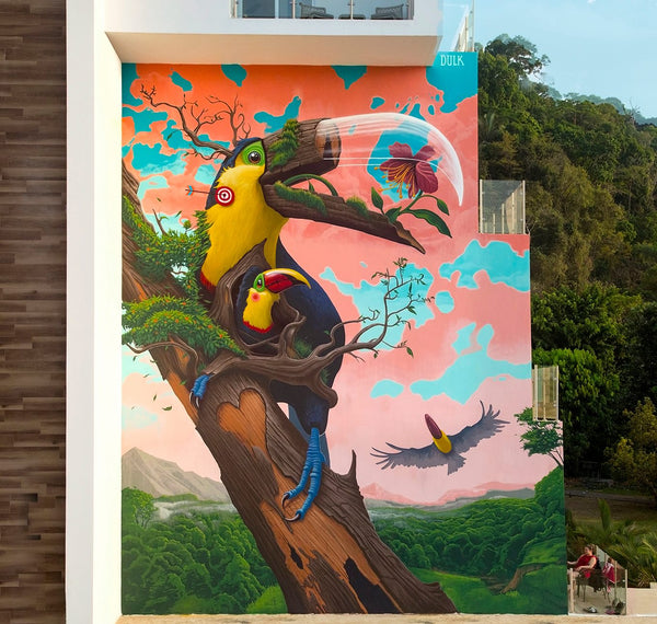 DULK - Mural Fragile in Costa Rica