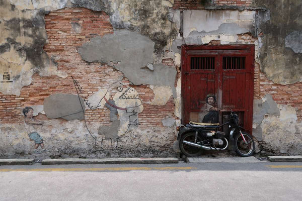 Edward Zacharevic - Georgetown Street Mural Installation
