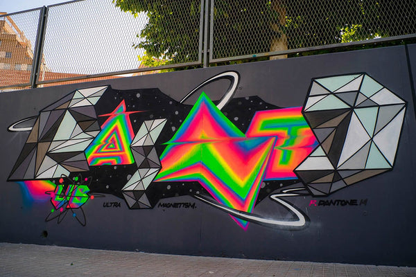 Felipe PANT ONE Graffiti Piece