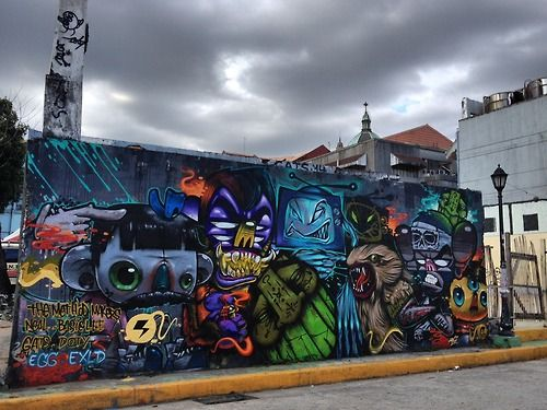 GATS mural collaboration in Phillipines