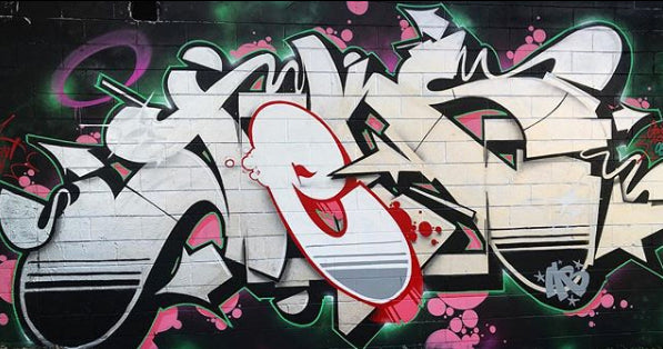 Graffiti by JEKS ONE - hardcore burner