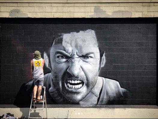 JEKS Graffiti Large Scale Mural project