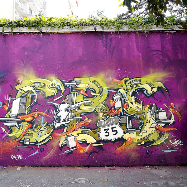KANOS Graffiti Piece