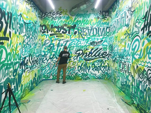 MECRO on staying busy with large scale mural projects