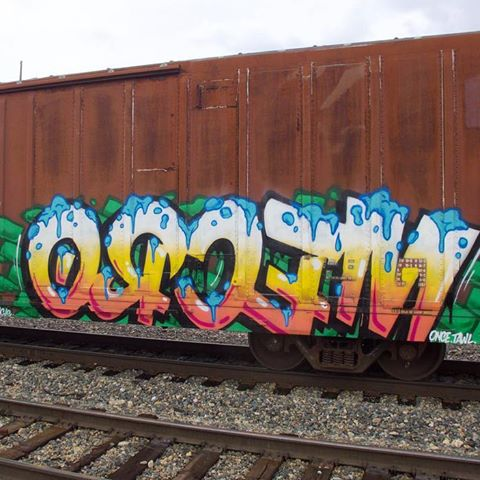 5 Freight Graffiti Artists You Need to know -MECRO