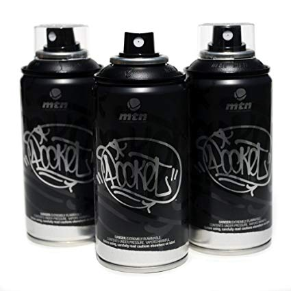 MTN Pocket Spray Cans for Graffiti Artists and Fine Artists