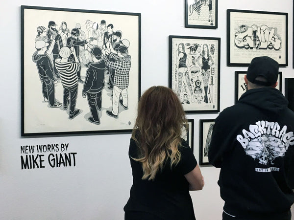Mike Giant Gallery Opening 002