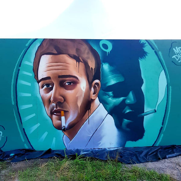 Mr Dheo Austin Mural - First Rule Is