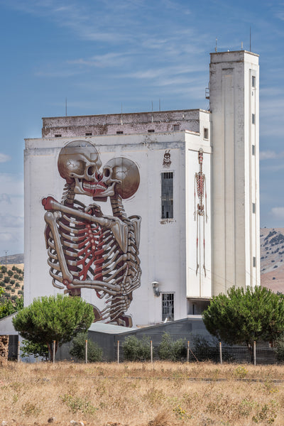 Nychos - Pillar of UNified Love Mural