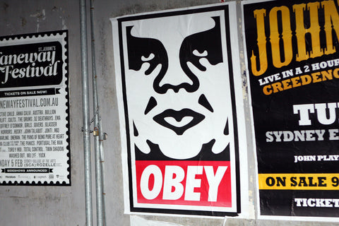 Shepard Fairey Obey Giant Poster