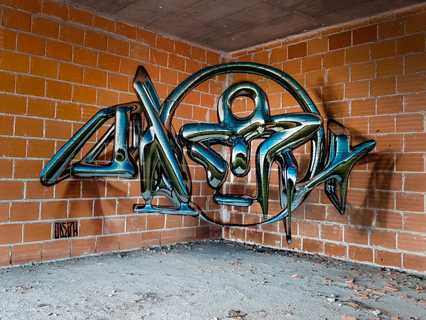 ODEITH - deformed-calligraphy