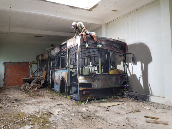 ODEITH - wrecked-bus