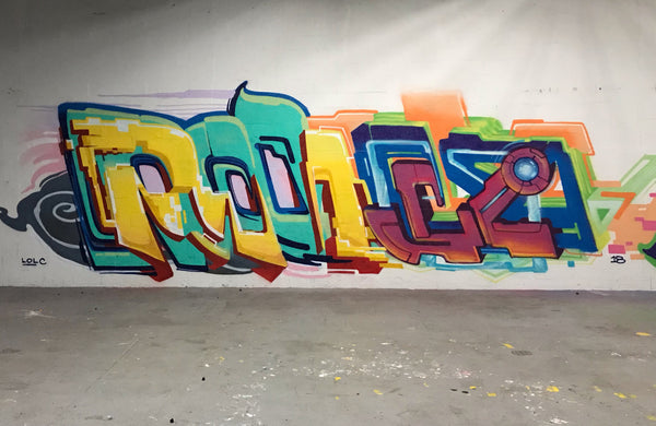 PEMEX Graffiti - Interview with Spray Planet by Montana Colors