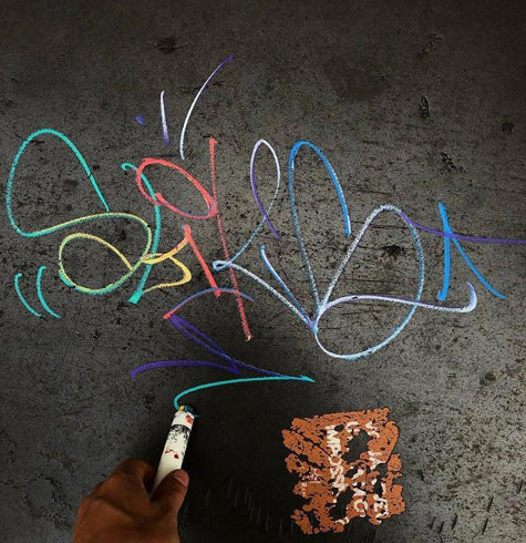 Hand Mixed Solid Marker Split Streaks are great for Graffiti, Tagging, Artwork and DiY Projects
