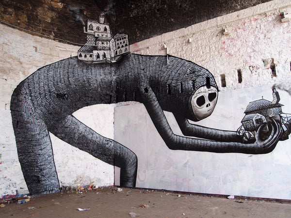 PHLEGM Street Art and Graffiti Art