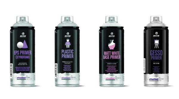 Montana Colors Pro Line Spray On Primers