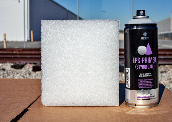 Montana Colors Pro Line Spray On Primers: EPS Primer for Styrofoam