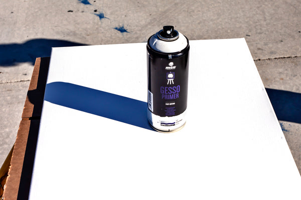 Montana Colors Pro Line Spray On Primers: Gesso Primer