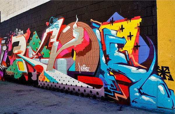 REVOK Graffiti piece in Chicago