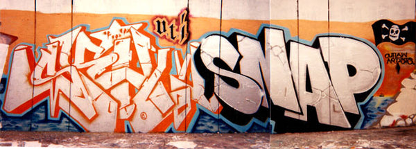 SKILL SNAP UTI Crew Los Angeles Graffiti