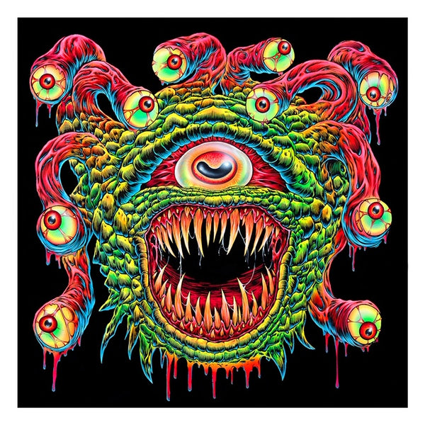 SKINNER monster psychadelic artwork