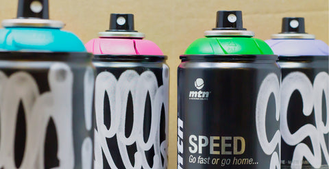 Shake Your Spray Cans - Montana Colors Speed Spray Paint