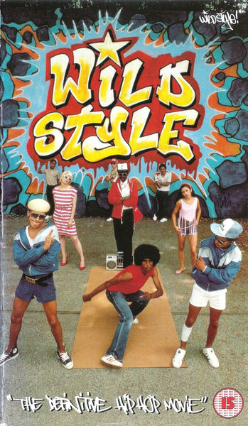 Wildstyle Graffiit Hiphop Movie cover