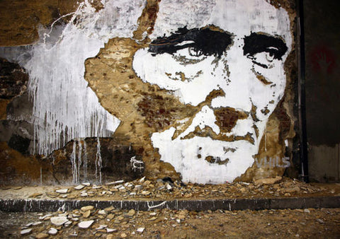 VHILS street artist early works