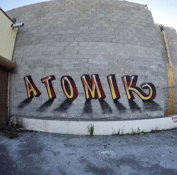 Spay Planet's 11 Questions with Graffiti Writer ATOMIK