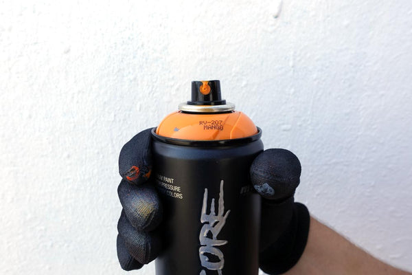 Montana Hardcore Medium Spray Can Spray Cap