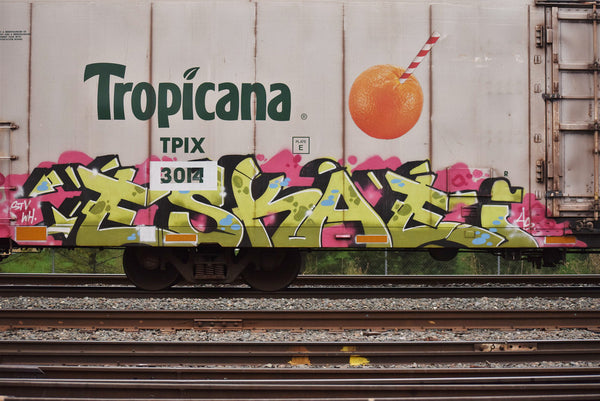 5 Freight Graffiti Artists You Need to know - ESKAE