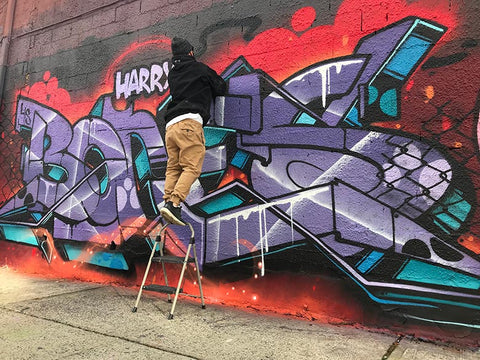 HOACS - New York Wildstyle Graffiti Writer - Harry Bones