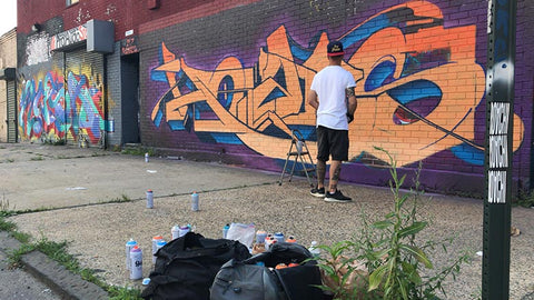 HOACS - New York Wildstyle Graffiti Writer