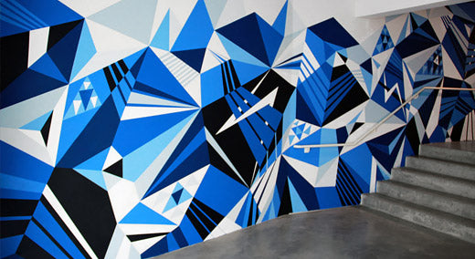 matt w moore mural - geometry