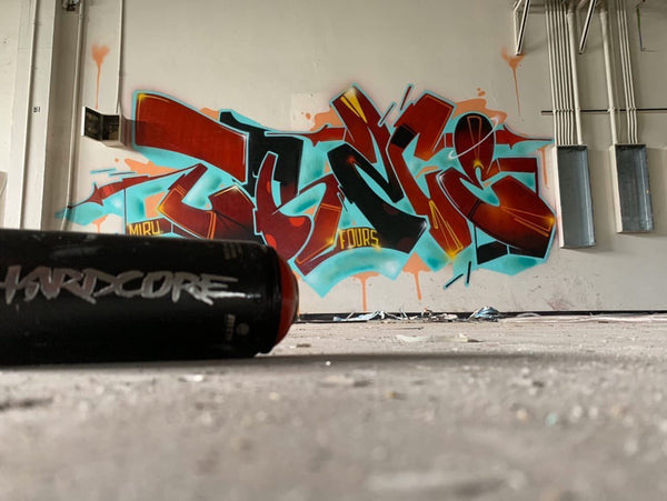 Montana Colors MTN Hardcore Spray Cans from Sprayplanet.com