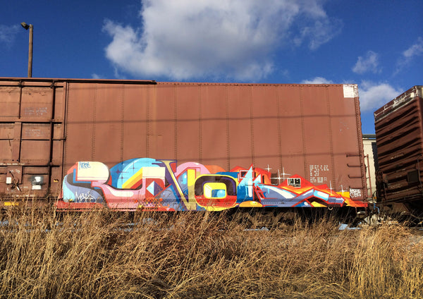 5 Freight Graffiti Artists You Need to know - REVOK