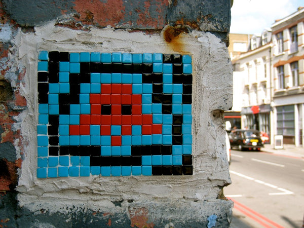 Invader Street Art on the streets