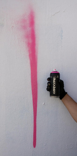 Montana Pink Fat Cap Spray Can Spray Cap Spray Pattern