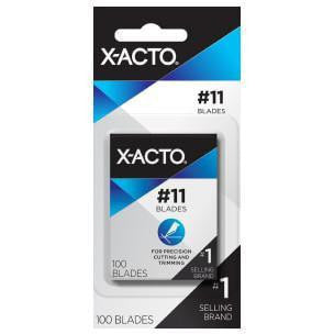 X-ACTO #11 CLASSIC FINE POINT BLADE 100 Pack | Spray Planet