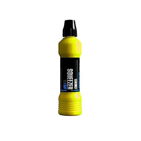 Grog Full Metal Paint Squeezer - 10mm - Flash Yellow