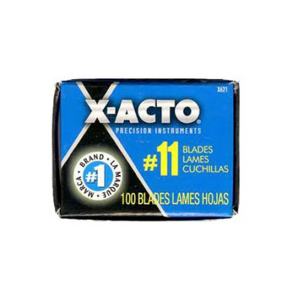 X-ACTO #11 Stainless Steel Blade 100 Pack | Spray Planet