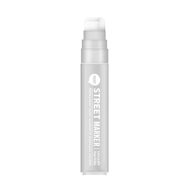 MTN Street Paint Markers 15mm - Silver | Spray Planet