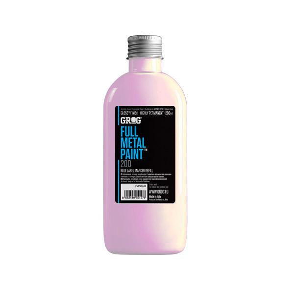 Grog Full Metal Paint Refill - 200ml - Piggy Pink