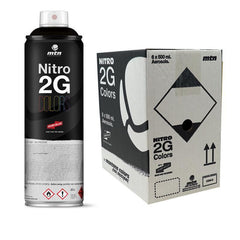 MTN 2G Colors<br>Black 500ml 6 Pack