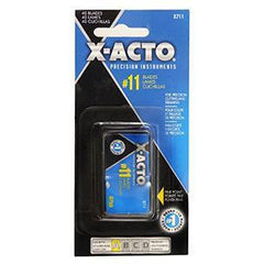 XACTO #11 CLASSIC FINE POINT BLADE 40 Pack