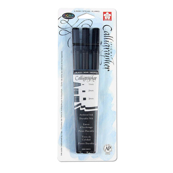 Sakura Pigma Calligrapher - 10 Series Pen (3 Pack) | Spray Planet