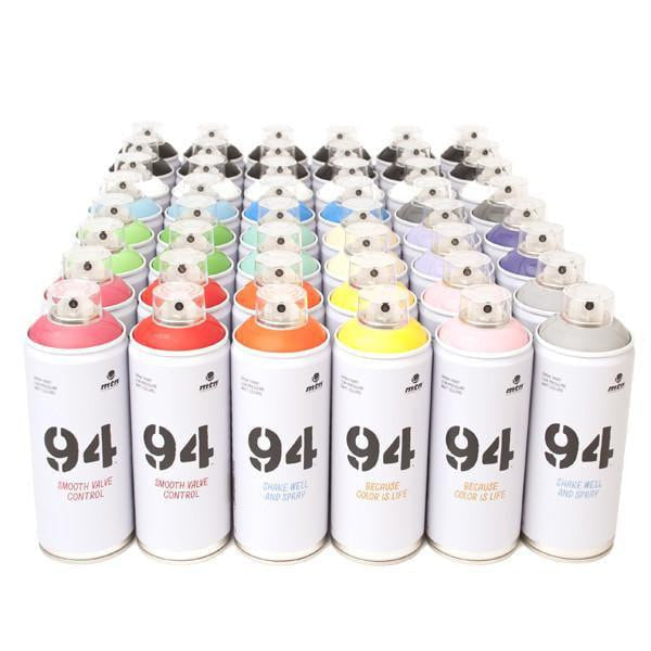Montana Colors MTN Spray Paint Packs 94 Crew Pack 48 Cans
