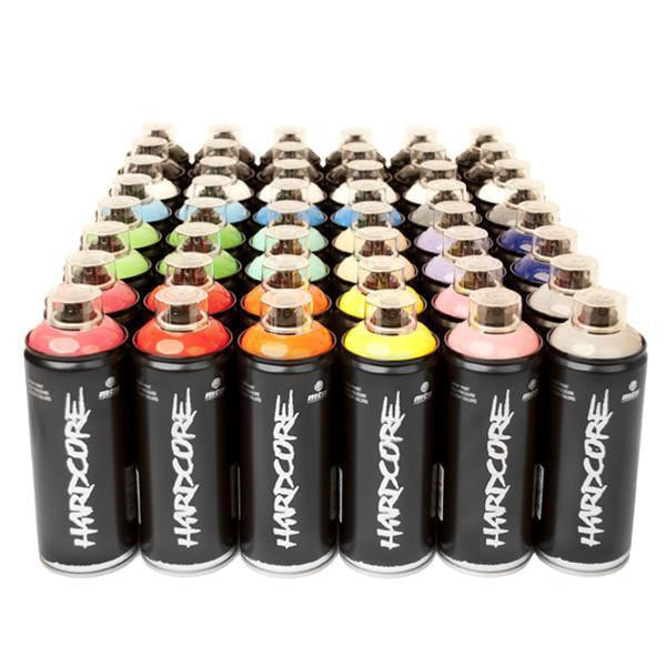 Montana Colors MTN Spray Paint Packs Hardcore Crew 48 Spray Can Pack