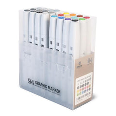 MTN 94 Graphic Marker </br>24 Pack with Greyscale - A