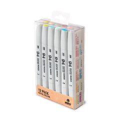MTN 94 Graphic Marker 12 Pack - Pastel